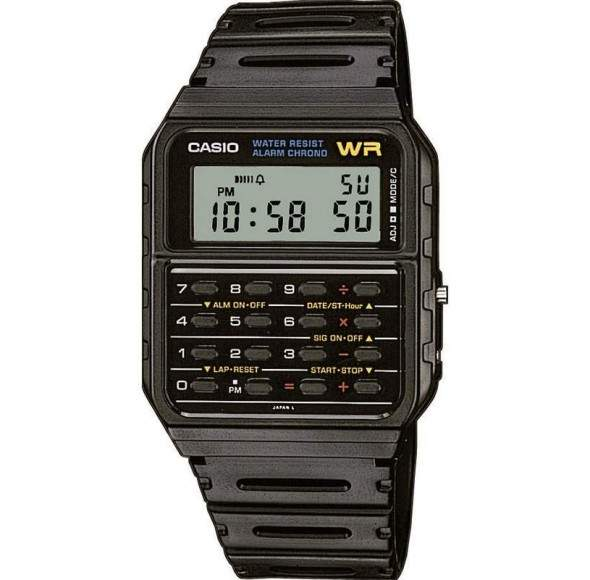 Ceas CASIO CLASSIC CALCULATOR CA-53-W