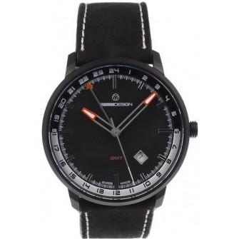 Ceas Barbati MOMO DESIGN ModelESSENZIALE GMT MD6005BK-12