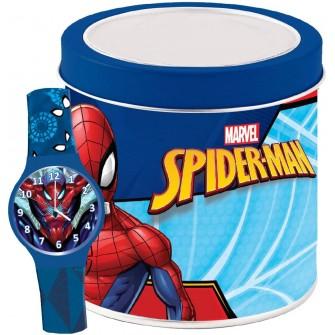 Ceas Junior MARVEL KID WATCH SPIDERMAN - Tin box 500919