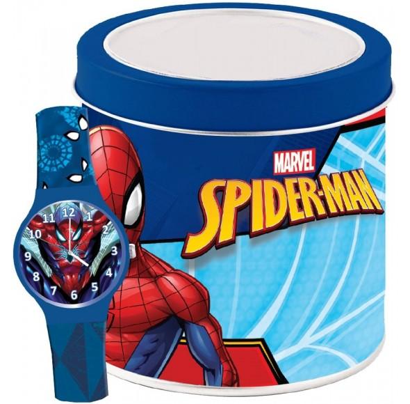 Ceas Junior MARVEL KID WATCH SPIDERMAN - Tin box 500919