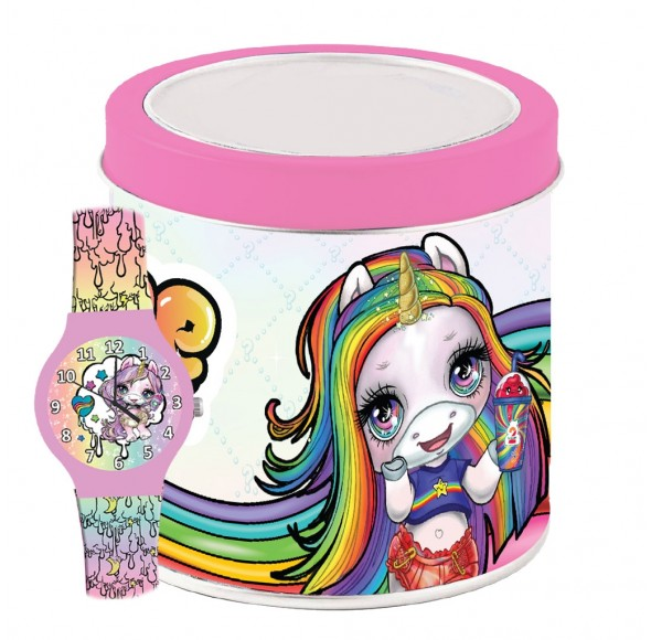 Ceas Junior POOPSIE UNICORN - Tin box 503332