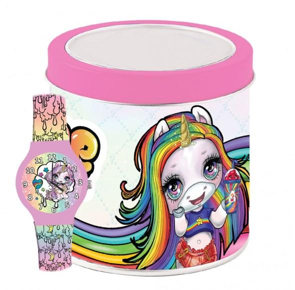 Ceas Copii, Poopsie Unicorn, Tin Box 503332