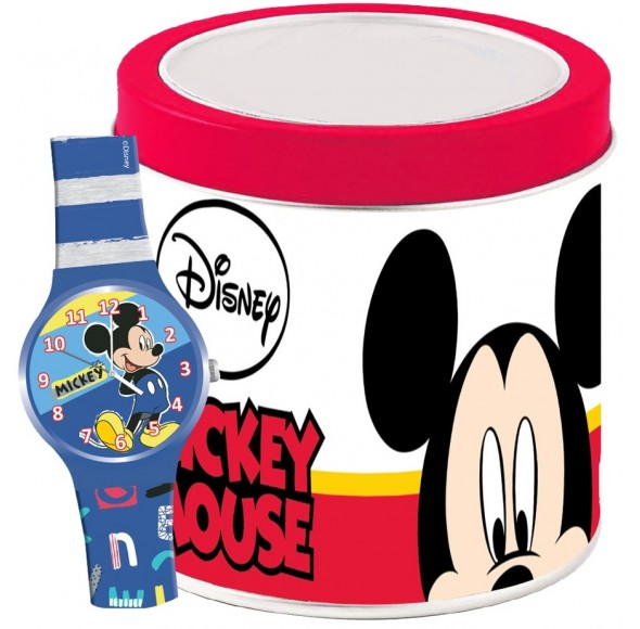 Ceas Junior WALT DISNEY KID WATCH MICKEY MOUSE - Tin Box 562386