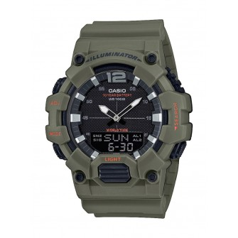 Ceas Barbati, CASIO ILLUMINATOR Black / Army Green HDC-700-3A