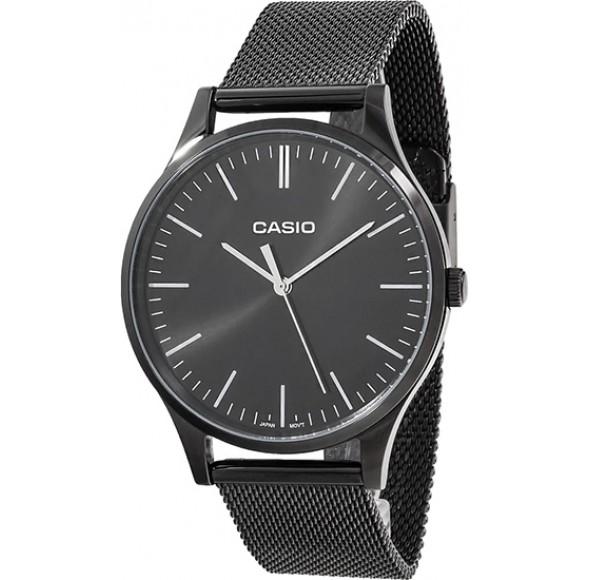 Ceas CASIO CLASSIC BLACK MESH BLACK New! LTP-E140B-1A