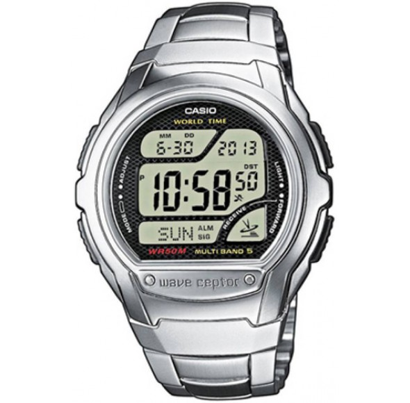 Ceas Barbati, Casio, Wave Ceptor - World Time, Radio Controlled WV-58DE-1A