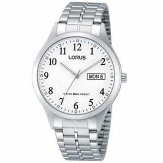 Ceas LORUS WATCH CLASSIC - 3H - GENT - SS - WHITE - BRACELET RXN91BX9