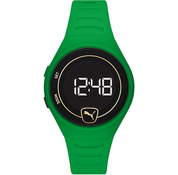 Ceas PUMA Forever Faster LCD Verde P5046