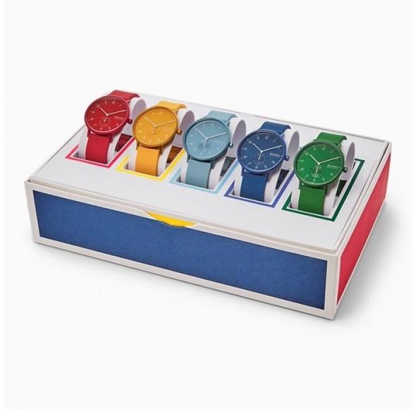 Ceas Barbati, SKAGEN DENMARK AAREN Special Pack (5 watches) SKW1119
