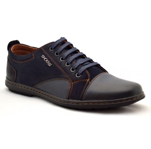 Pantofi Casual Barbatesti bleumarin NS