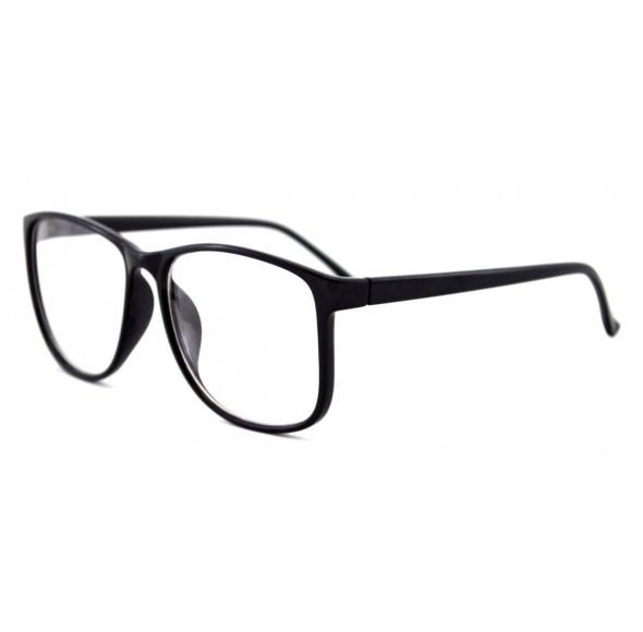 Ochelari cu lentile transparente Wayfarer Justin Negri