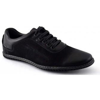 Pantofi Casual Barbatesti negri 2 WD2