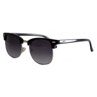 Ochelari de soare Retro Negru - Degrade