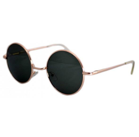 Ochelari de soare John Lennon Vintage Verde Inchis - Gold