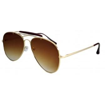 Ochelari de soare Aviator Outdoorsman Maro - Auriu