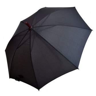 Umbrela Baston ICONIC Automata, Neagra, Ø110cm, articulatii anti-vant