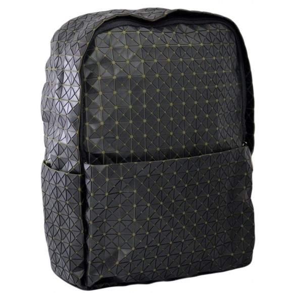 Rucsac Dama Gri inchis mat cu material textil kaki - Starlight X