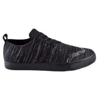 Pantofi Sport Barbati Negri din Material textil