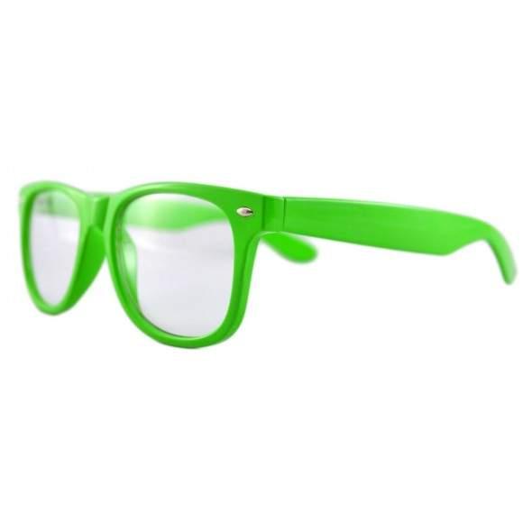 Ochelari - Rame cu lentile transparente tip Wayfarer Passenger Verde