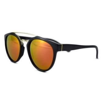 Ochelari de soare Wayfarer Passenger ZI Portocaliu cu reflexii roz - Negru-