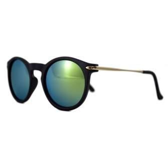 Ochelari de soare Passenger S Verde cu reflexii - Negru Mat