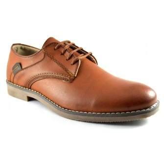Pantofi barbatesti maro deschis #2 - Dark