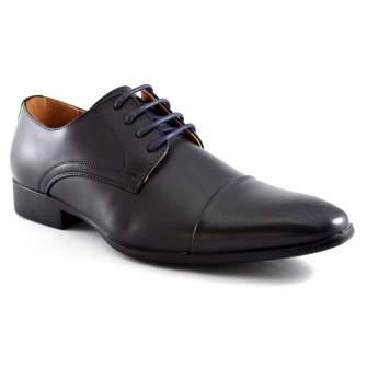 Pantofi barbatesti bleumarin eleganti - Sheeran