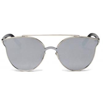 Ochelari de soare Ochi de Pisica Gri Oglinda II