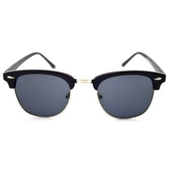 Ochelari de soare Retro Negru - Bleumarin Degrade