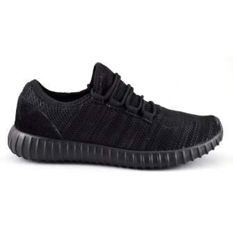 Pantofi Casual Sport Barbati Negri Panza Talpa Usoara din Spuma