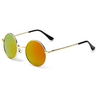 Ochelari de soare John Lennon Vintage Lemon cu reflexii Orange/Auriu