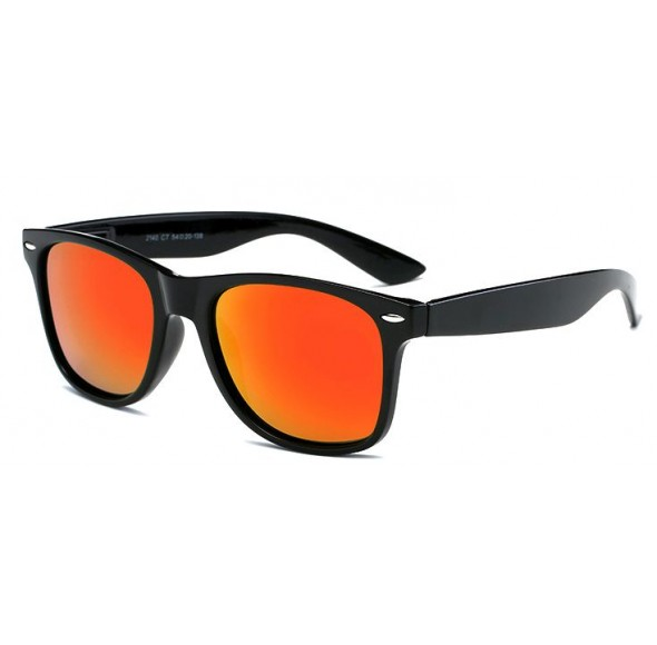 Ochelari de soare Wayfarer Passenger  - Portocaliu cu Negru