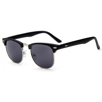 Ochelari de soare Clubmaster Retro Negru - Bleumarin Degrade