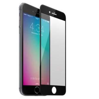 Folie de protectie iPhone 7 Sticla Securizata 3D Acoperire 100% 0,2mm Geam Balistic - Neagra