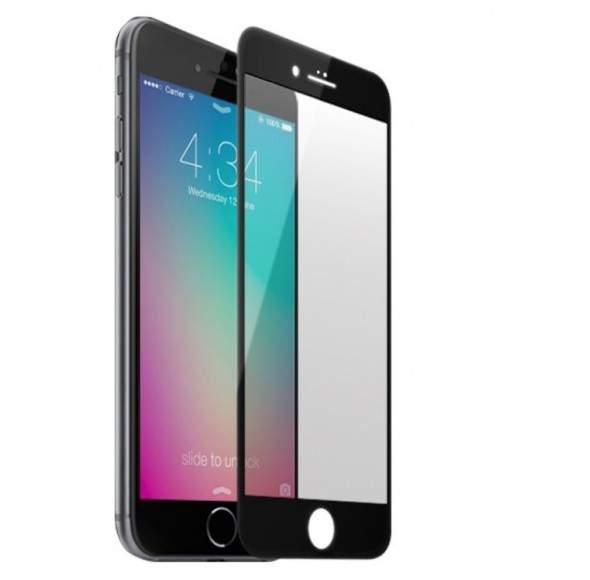 Folie de protectie iPhone 7 PLUS Sticla Securizata 3D Acoperire 100% 0,2mm Geam Balistic - Alba