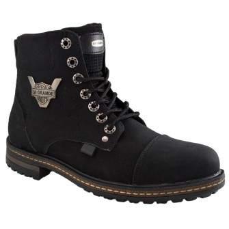 Ghete Barbati Negre Captusite - Le Grande Boots II