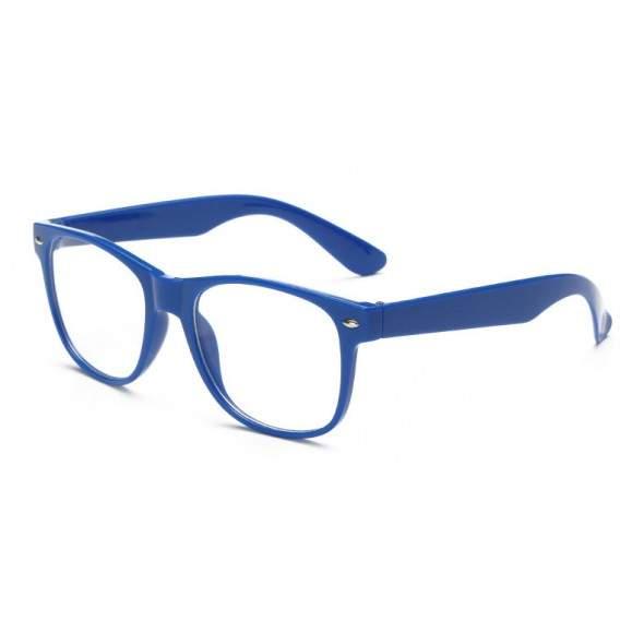 Ochelari - Rame cu lentile transparente Wayfarer Passenger Albastri