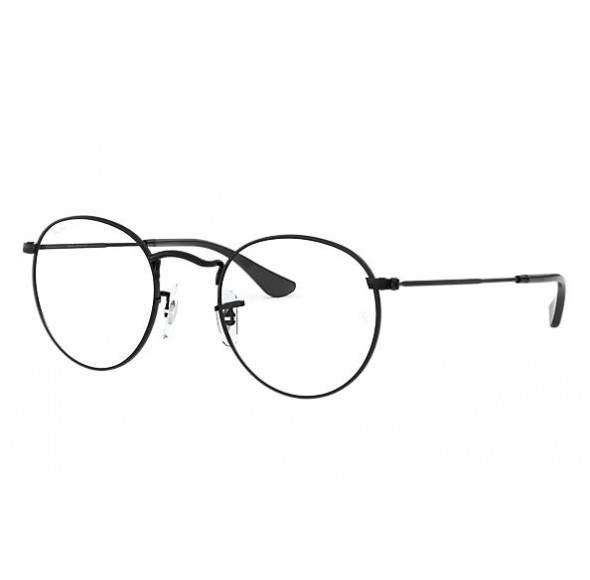 Ochelari - Rame cu lentile transparente Harry Potter Semirotund Oval John Lennon Negri