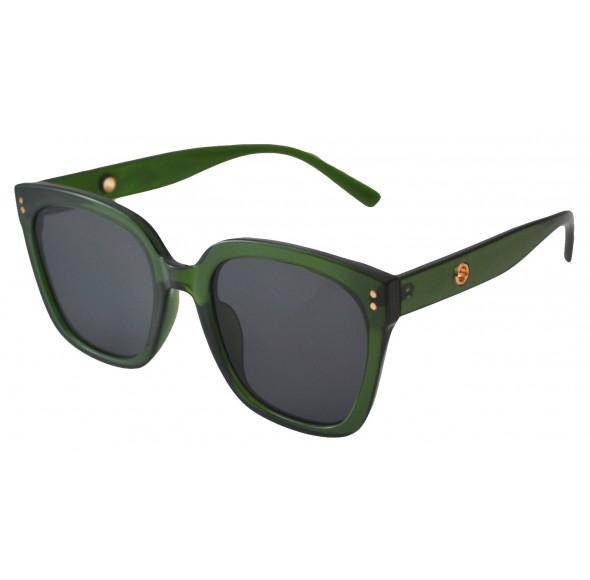 Ochelari de Soare Dama Rectangular Oversized Verde
