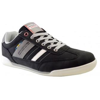 Pantofi Casual Sport pentru Barbati, Negri, Casual, Arrigo Bello, ideali pentru mers dar si activitati recreative