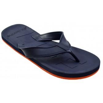 Slapi de plaja, gradina sau sala pentru barbati, tip papuci, albastri, Casual - High Life