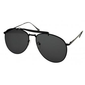 Ochelari de soare Aviator Outdoorsman Negru - Negru II