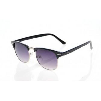 Ochelari de soare Clubmaster Retro Negru cu Auriu