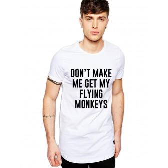 Tricou barbati alb  - Flying Monkeys
