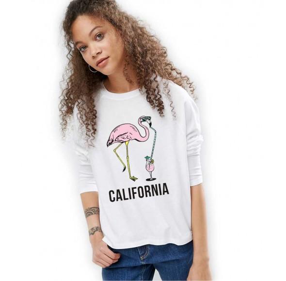 Bluza dama alba - California