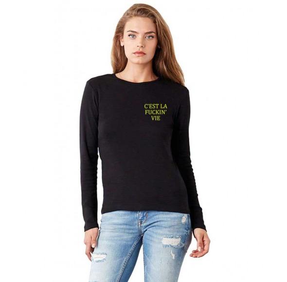 Bluza dama neagra - C'est la vie