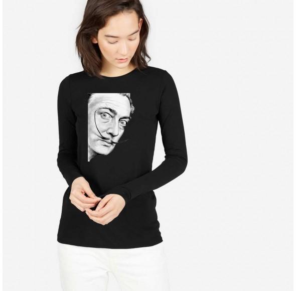 Bluza dama neagra - Dali - Portret