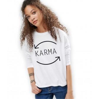 Bluza dama alba - Karma