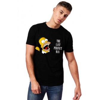 Tricou barbati negru - Simpson