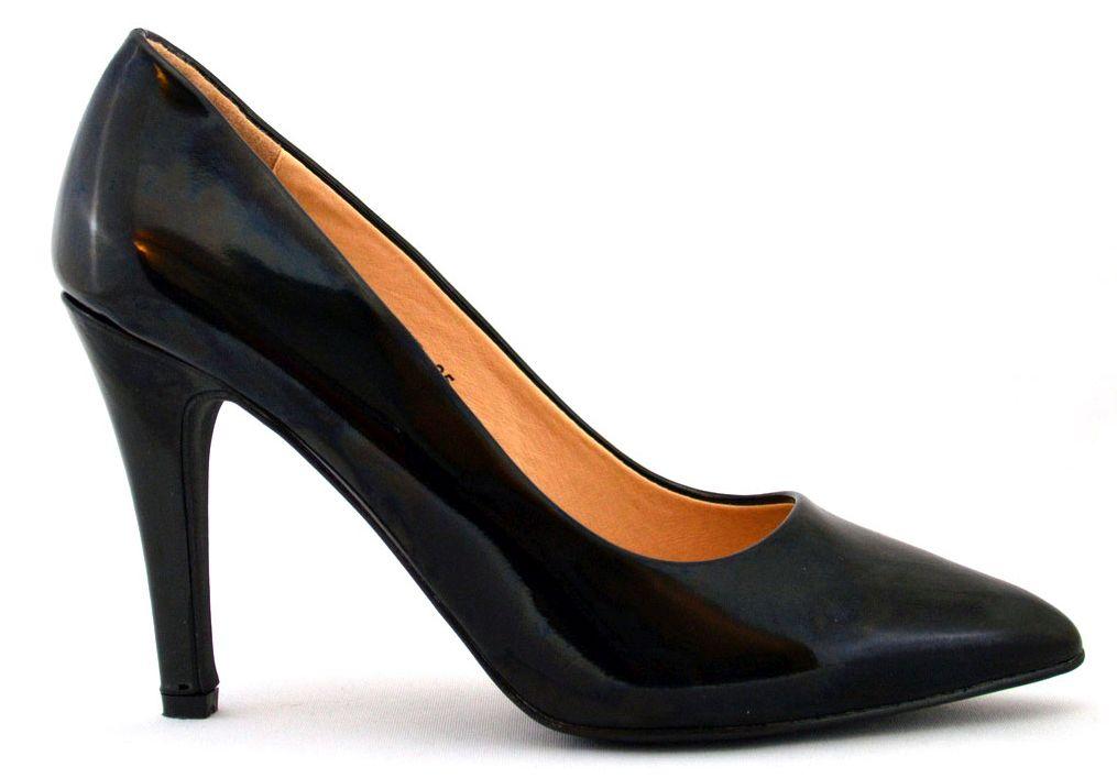 Pantofi dama negri Stiletto